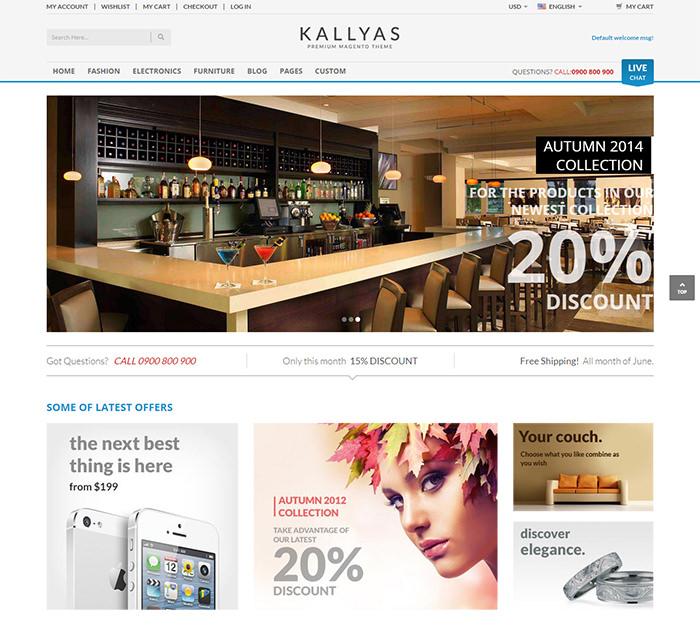 kallyas fluid responsive prestashop theme