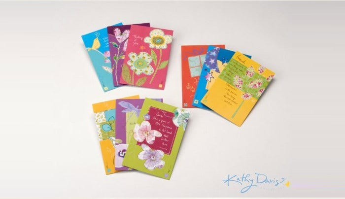 kathy davis birthday & everyday card set