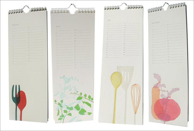 kitchen perpetual wall calendar1
