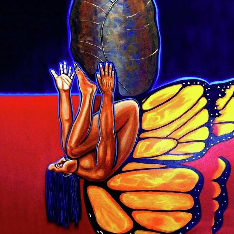 liberacion 2 metamorphosis painting