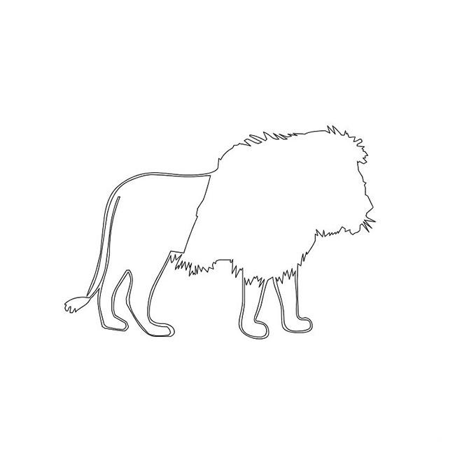 Lion Template Animal Templates Free amp Premium