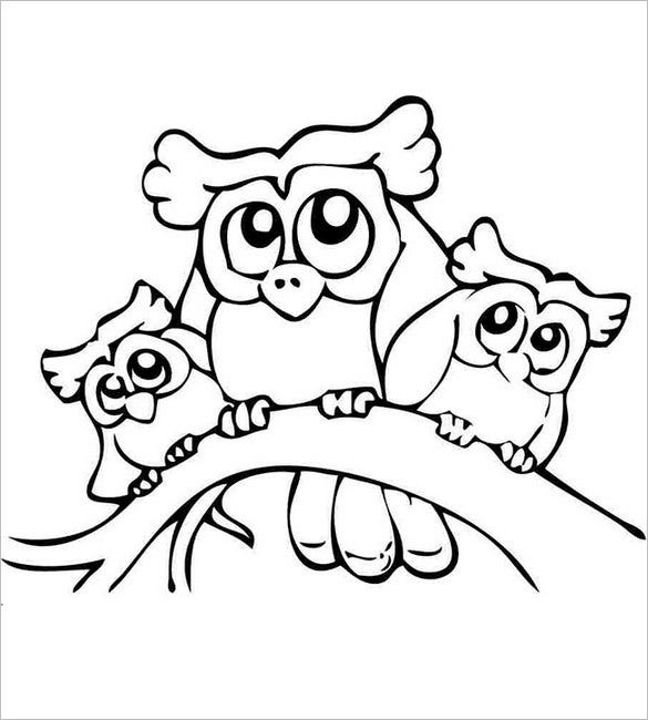 little owl template1