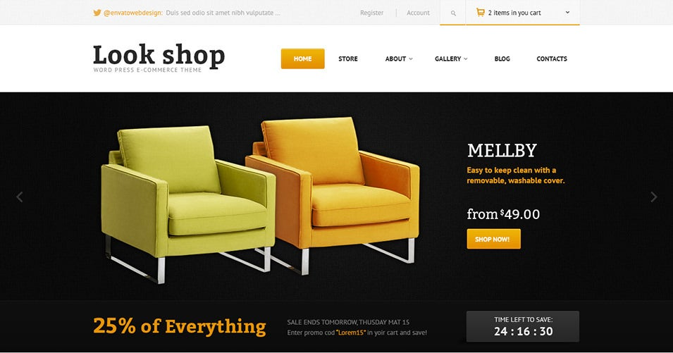 25 best furniture ecommerce templates free premium themes