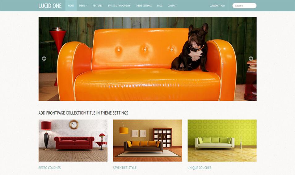 Furniture E-commerce Templates