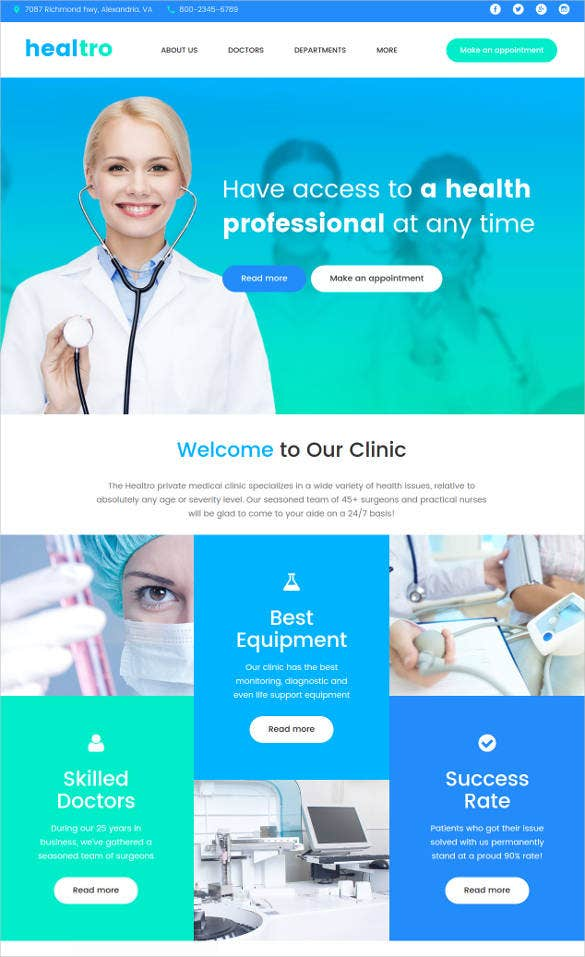 medical-clinic-responsive-blog-theme