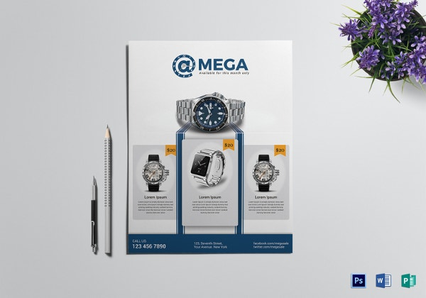 mega watch sale