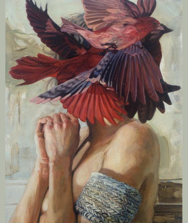 meghan howlands aesthetic painting