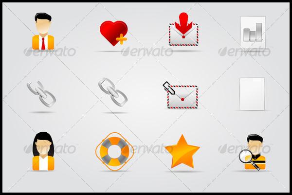 melo icon set