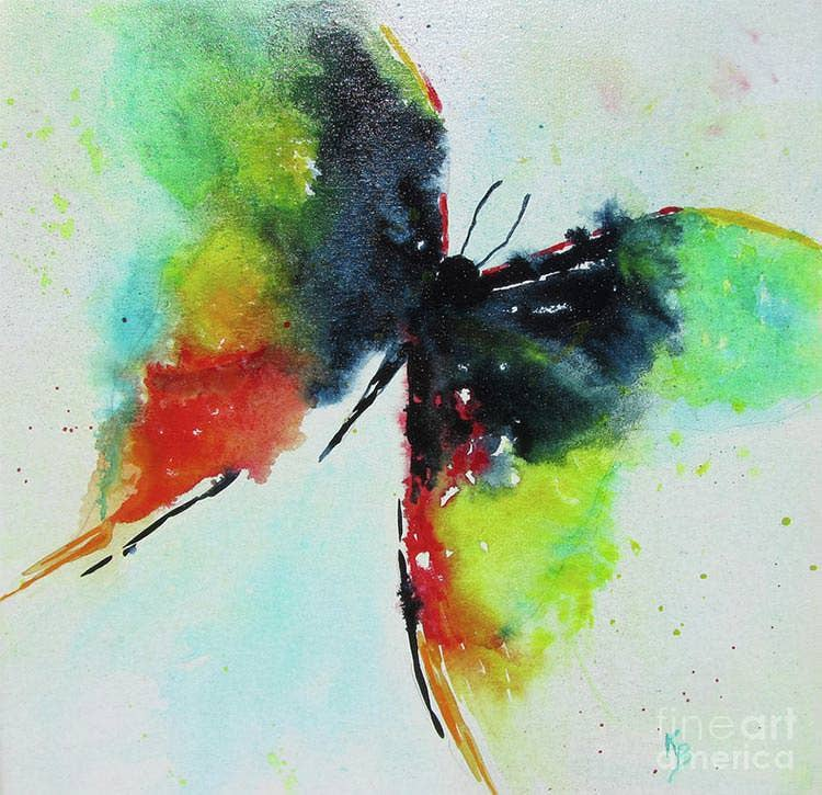 metamorphosis butterfly painting