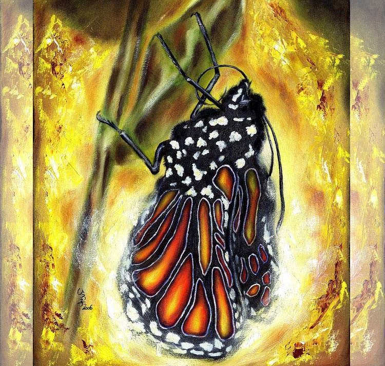 metamorphosis painting