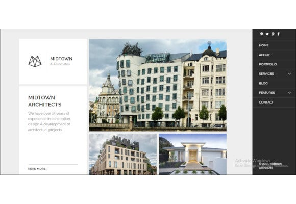 midtown architects – responsive wordpress theme