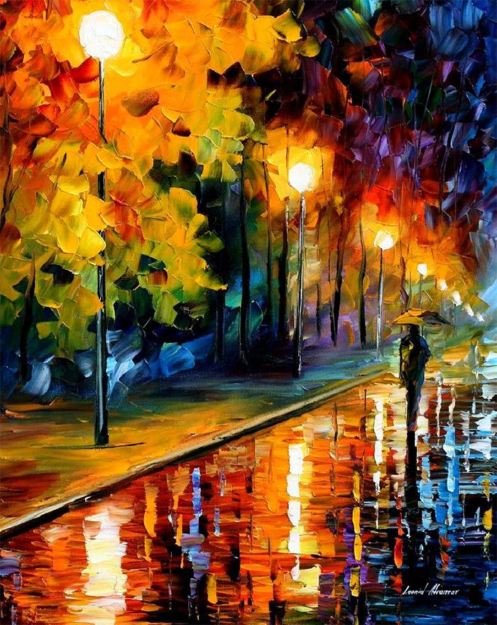 modern impressionist fine art oil