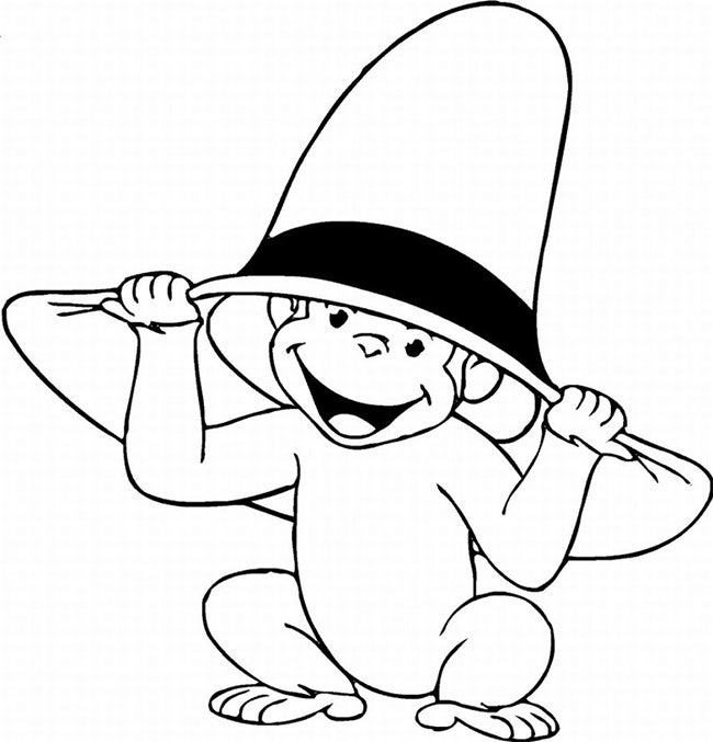 Baby Monkey Coloring Pages Coloring Pages