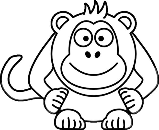 monkey template 18