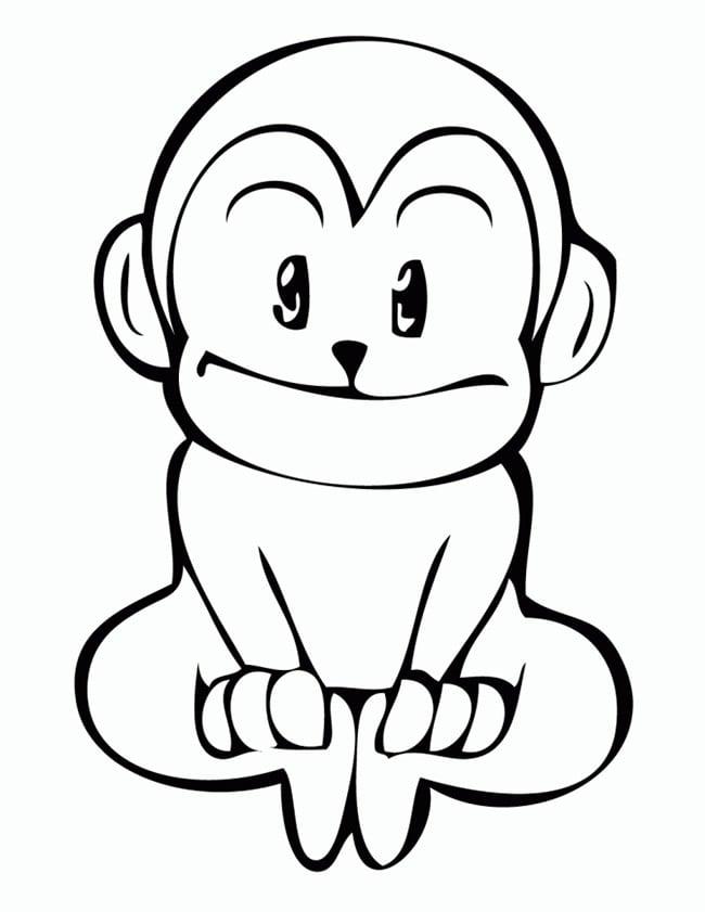 monkey template 21