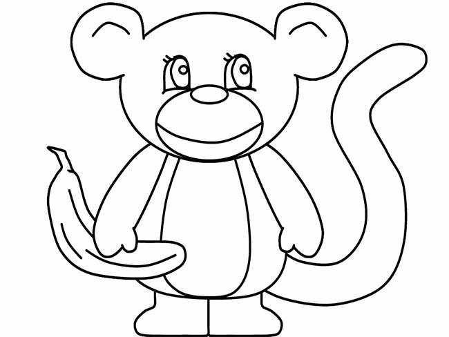 monkey template 45