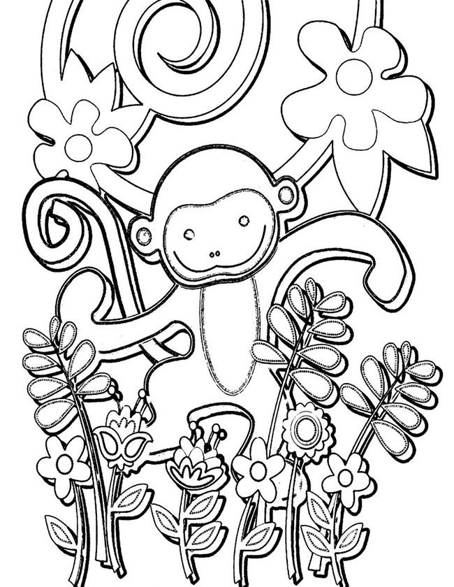 monkey template 48