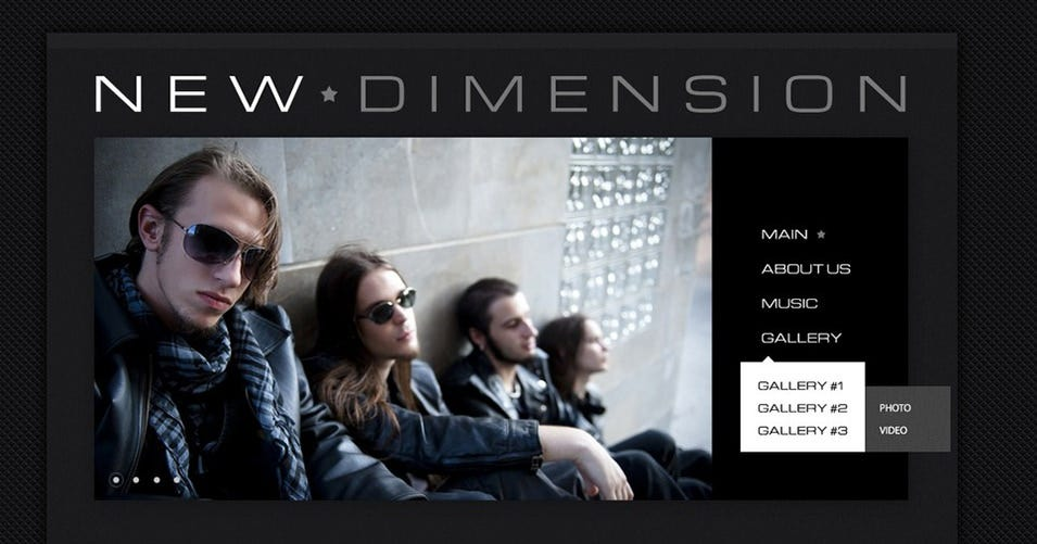 music band wordpress theme2
