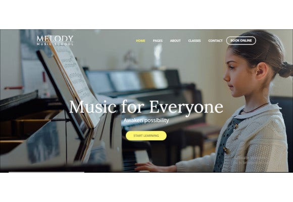 music-school-wordpress-theme