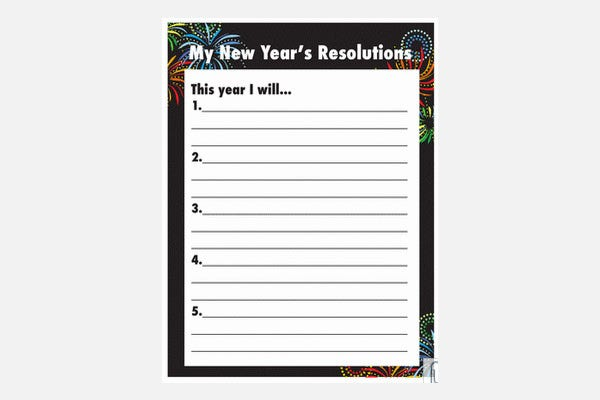 21  best new year resolution templates  u0026 design ideas for