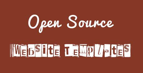 opensourcewebsitetemplates
