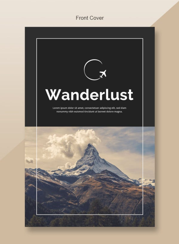 optimized travel catalog template