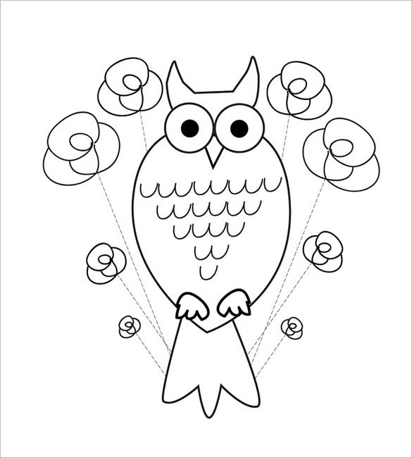 Card invitation design ideas free greeting card templates square owl pronofoot35fo Image collections