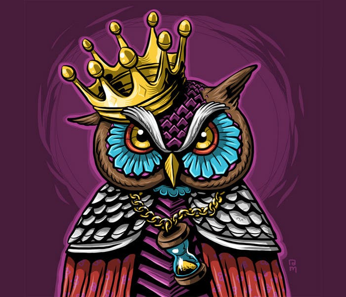 owl king artwork