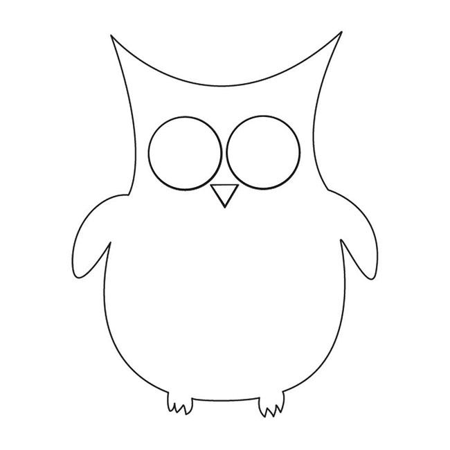 Owl Template - Animal Templates | Free & Premium Templates