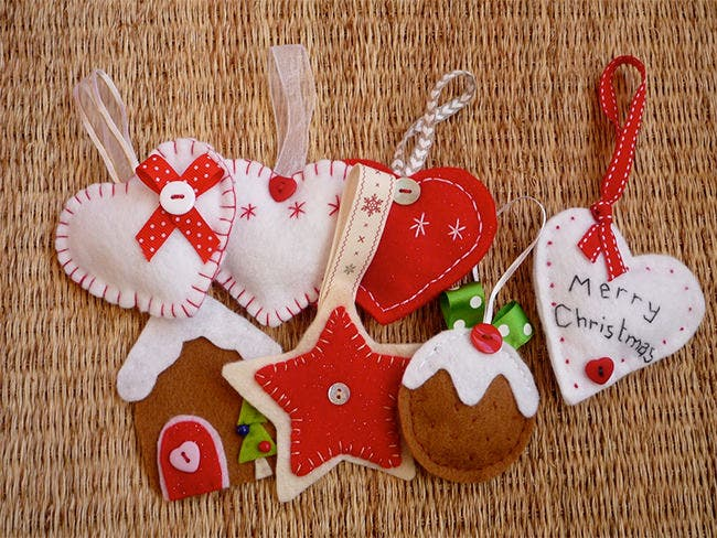 paper christma ornaments crafts