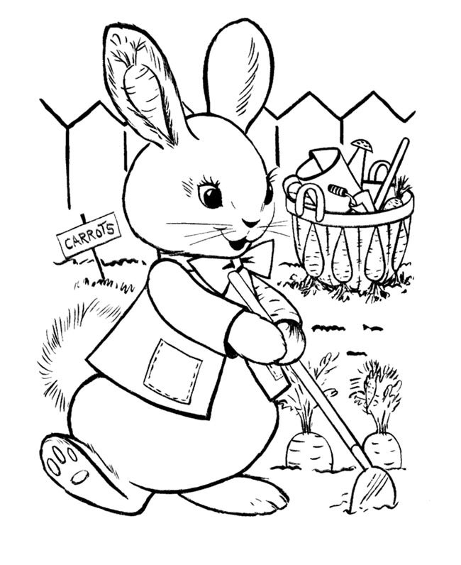 60+ Rabbit Shape Templates and Crafts & Colouring Pages | Free ...
