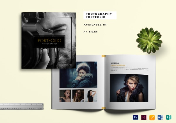 photography portfolio catalog template