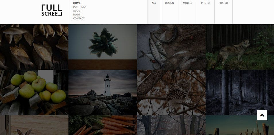 photography portfolio drupal theme