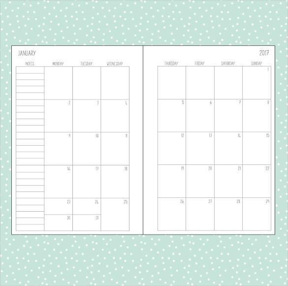 plain-calendar-2017-templates