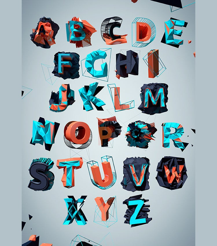 polygon alphabet