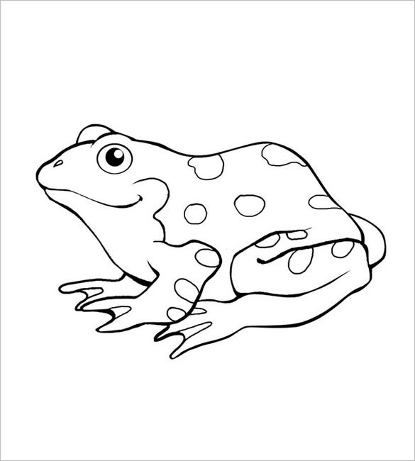 graphic regarding Frog Template Printable identified as Frog Template - Animal Templates Totally free Quality Templates