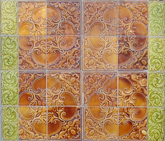 portugees tiles 3d texture