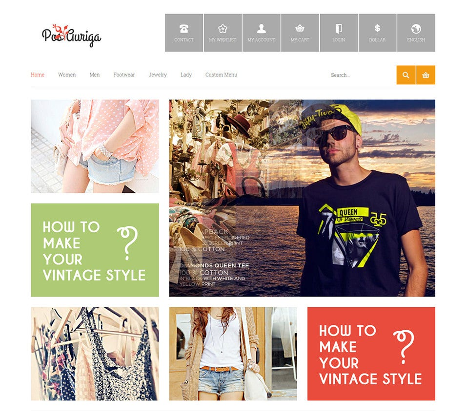 Fashion Responsive Prestashop Theme