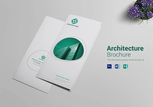 premium architecture brochure template