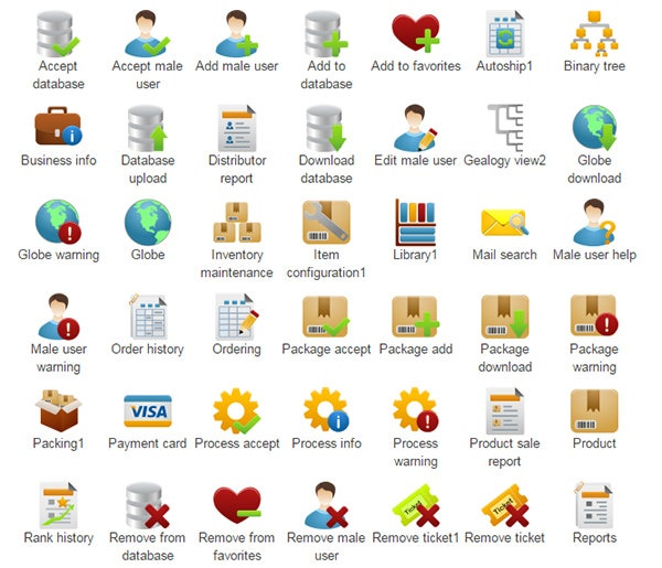 pretty office icon set part 3