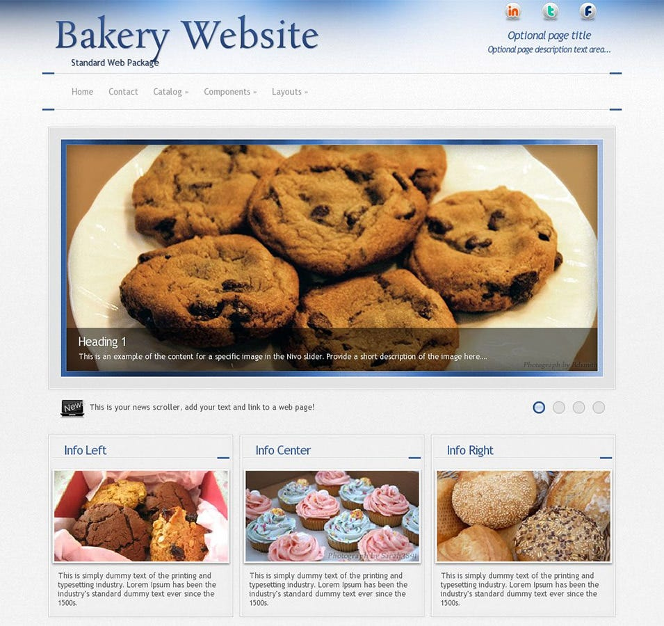 priority bakery wordpress theme