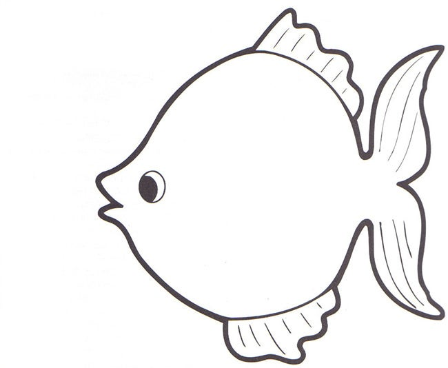 Fish Template   Free Printable Pdf Documents Download  Free