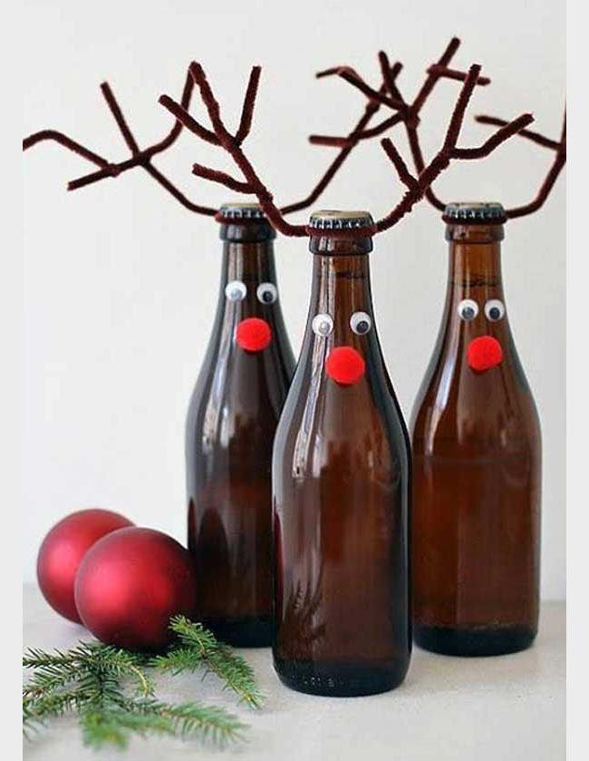 recycled christmas deco craft