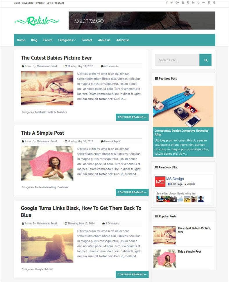 responsive-seo-optimized-blog-template