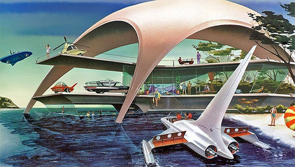retro futurism artwork