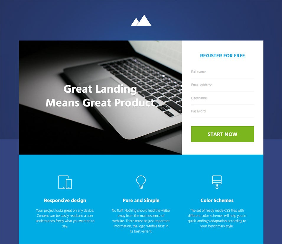15+ Best Start-Up Landing Pages to Download | Free & Premium Templates