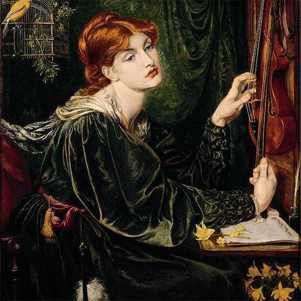 rossettis aesthetic painting