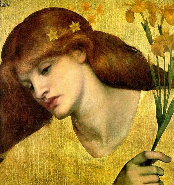 sancta lilias aesthetic painting