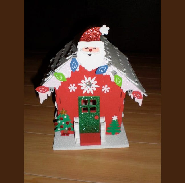 santa christmas craft