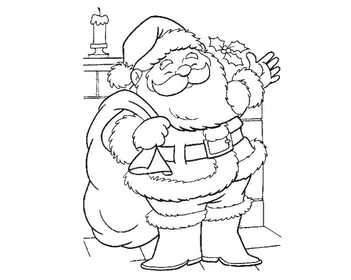 Santa Claus Craft Template